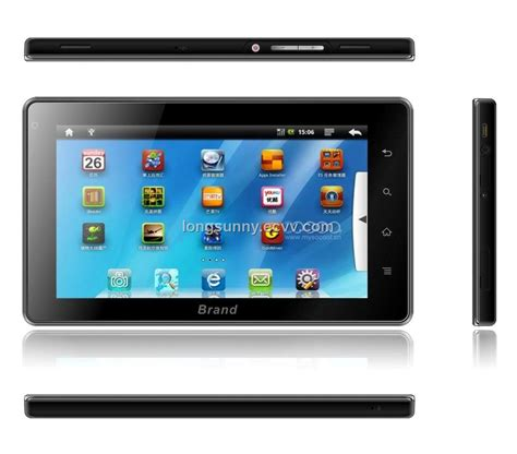 tablet pc android 7inch tablet pc android 2 2 gps wifi 3g functions netbook