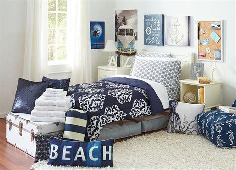college dorm bedding sets new print alert navy medallion dormroom dormbedding