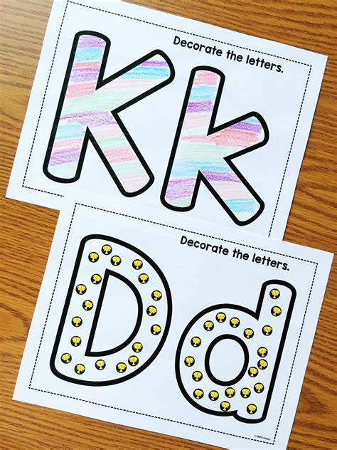 printable alphabet letters crafts alphabet crafts printables notebooks simply kinder