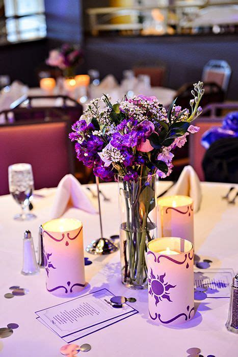 tangled theme prom お花いっぱい ラベンダーカラーが可愛いラプンツェルテーマの結婚式を挙げよう marry マリー