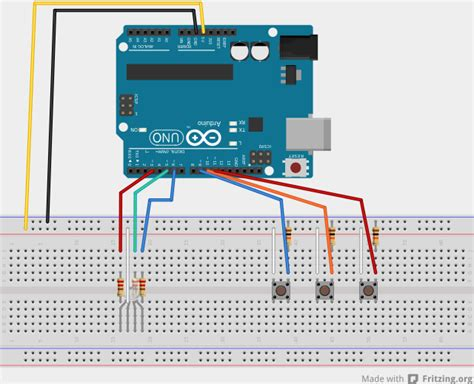 arduino resistor to ground controlling an rgb led with arduino