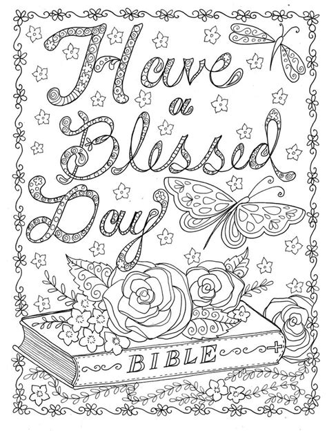 christian adult coloring pages images