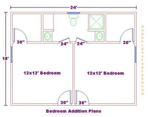 2 bedroom addition floor plans bedroom addition ideas addition with 2 bedrooms and