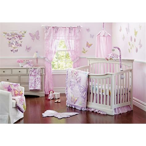 Heidi Klum Crib by Truly Scrumptious Butterfly 4 Crib Set