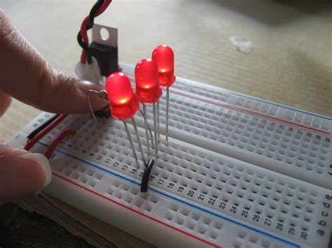 connecting resistors in parallel on a breadboard lab electronics at suz itp