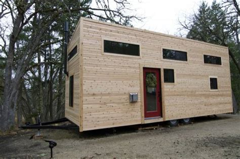 eco cabins manufacturer building tiny home on wheels