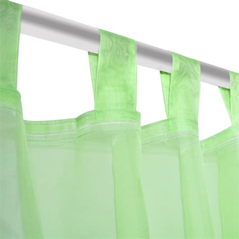 apple green curtains vidaxl co uk apple green sheer curtain 140 x 225 cm 2 pcs