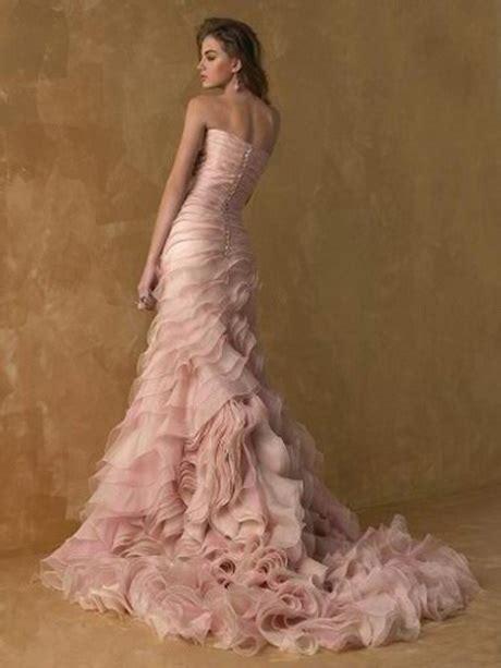 hochzeitskleid pink blush colored wedding gowns