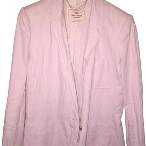 Baby Pink Blazer Termurah 1 couture baby pink cotton blazer size 4 s tradesy