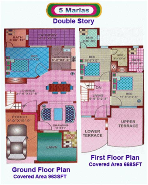 5 marla house map story in pakistan 5 marla house design popular house plans and design ideas