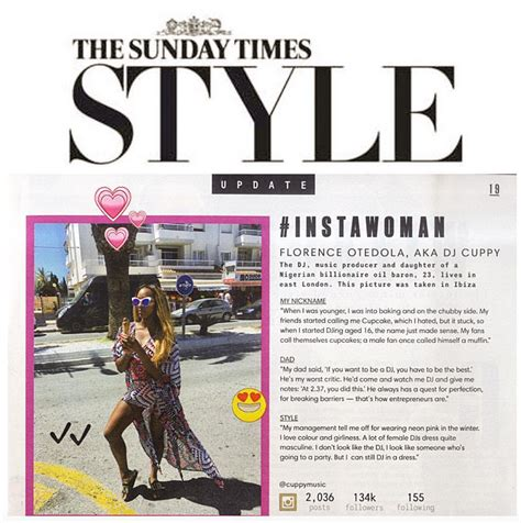 sunday times careers section south africa dj cuppy was the sunday times style s instawoman of the