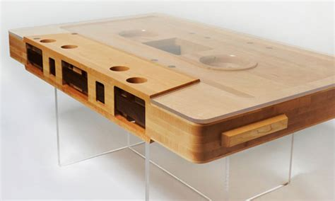 Practical Coffee Tables Practical Reclaimed Wood Mixtape Coffee Table Freshome