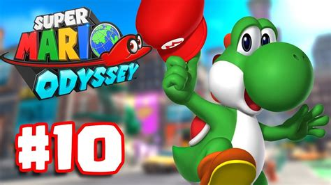 libro super mario odyssey kingdom super mario odyssey part 10 unlock yoshi in mushroom kingdom super mario odyssey switch