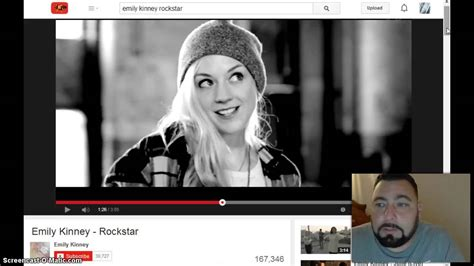 emily kinney music video emily kinney s rockstar music video review youtube