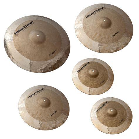 Handmade Cymbals - heartbeat custom series cymbal set 16 18 20 24 heartbeat