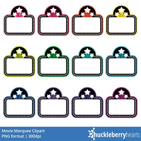 marquee clipart marquee clipart huckleberry hearts