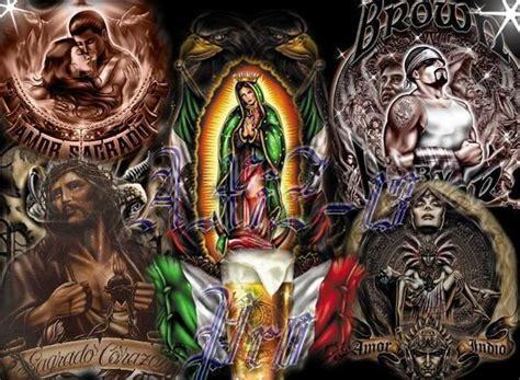 imagenes aztecas cholas brown pride