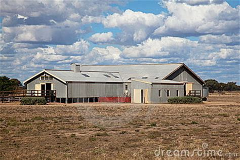 outback australian sheep shearing shed royalty free stock