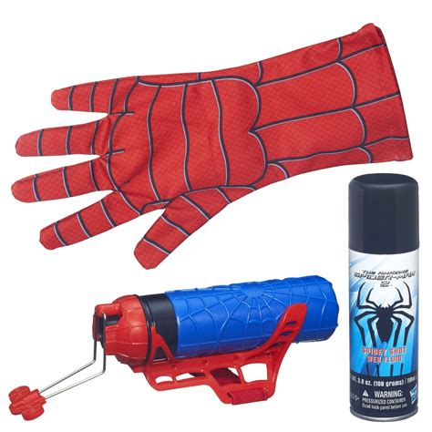 spiderman glove pattern spider man web shooter with glove spider man toys and