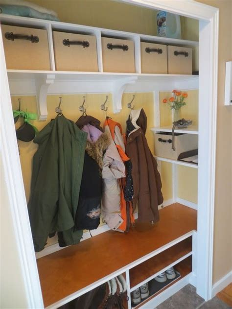 Mudroom Closet Organization Ideas by 10 Best Ideas About Coat Closet Organization On