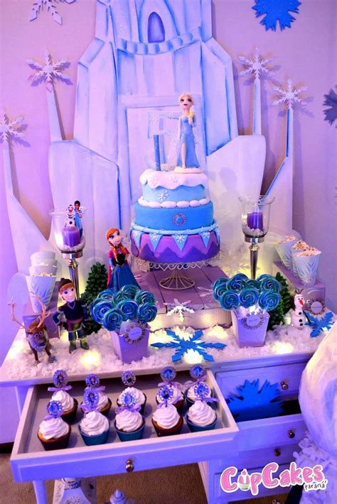 frozen birthday theme decorations frozen themed birthday crafts decorations