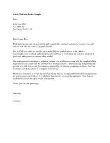 Business Letter Sample New Customer Best Photos Of Examples Of Welcome Letters Sample