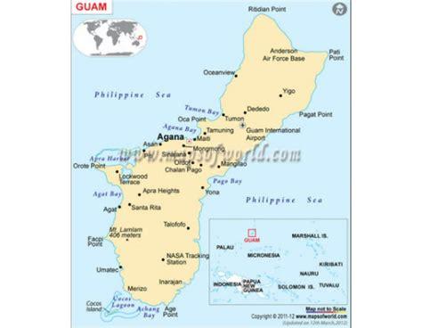 maps guam buy guam map