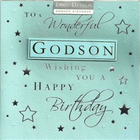 Happy Birthday To My Godson Quotes Birthday Wishes For Godson Quotes