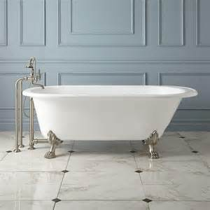 68 quot hofburg cast iron clawfoot tub bathtubs bathroom