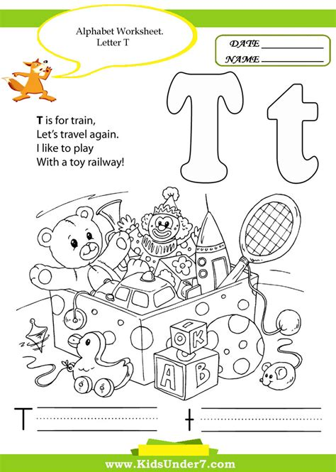 7 alphabet handwriting worksheets a to z