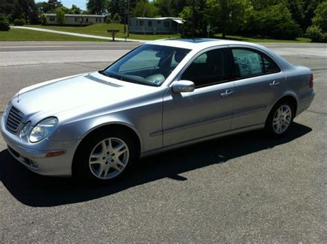 sell used 2005 mercedes e320 cdi diesel in chambersburg