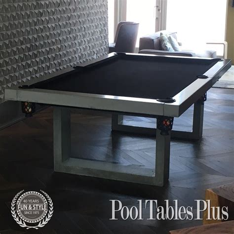 manhattan concrete pool table