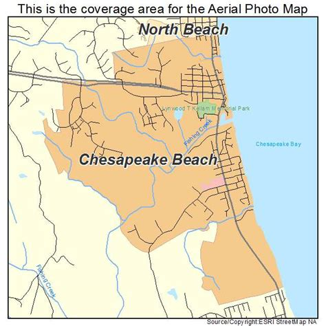 maryland map beaches aerial photography map of chesapeake md maryland