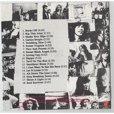 Cd Original Rolling Stones Exile On St exile on st by the rolling stones cd with ninondisque