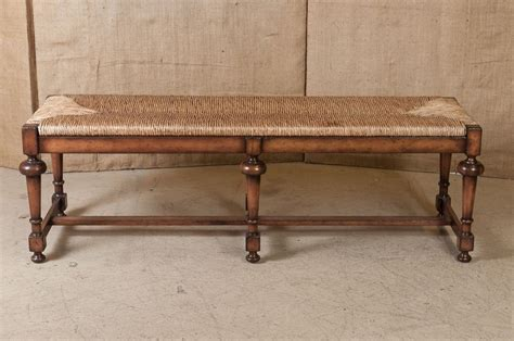 french bench lolo french antiques french country rush seat bench lolo french antiques et more