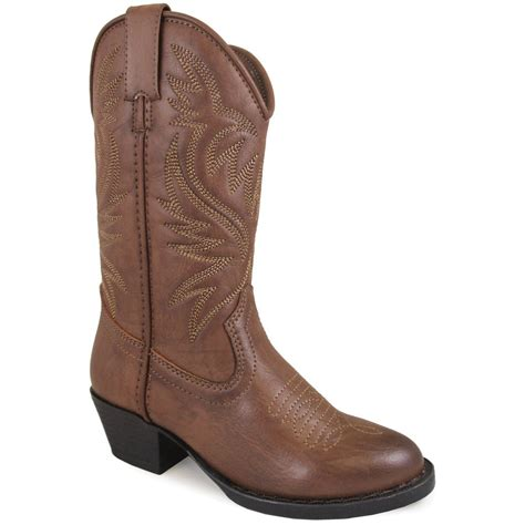 Country Boots Brown Simple smoky mountain trenton western boots childrens brown