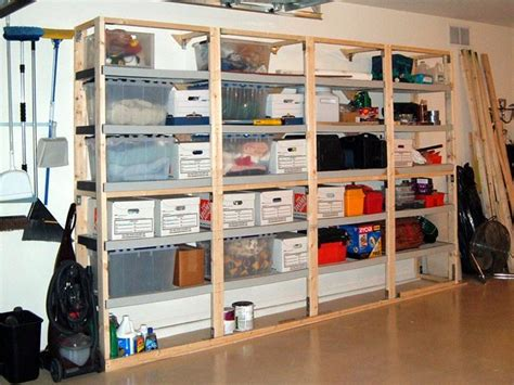 Garage Shelving Storage Ideas Garage Storage Ideas Organize Your Garage The Right Way