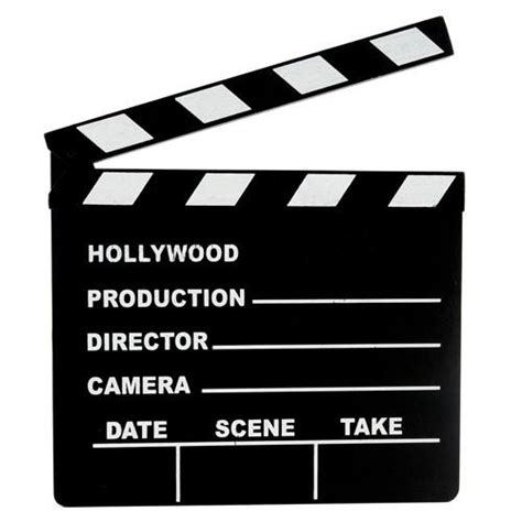 clapperboard business card template clapperboard