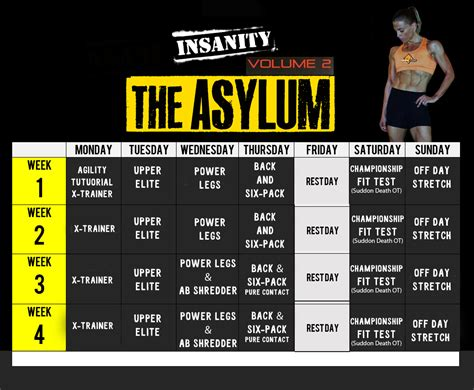 Calendario Insanity Search Results For Insanity Max 30 Calendar Calendar 2015