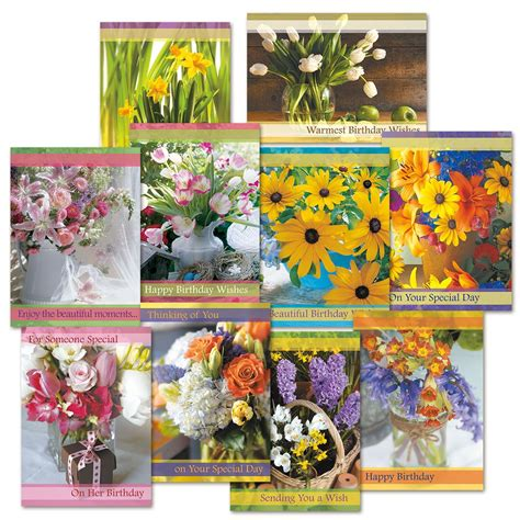 Gift Card Value - floral birthday value pack current catalog