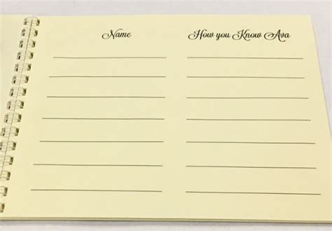 guest book cards template 10 guest books sle templates