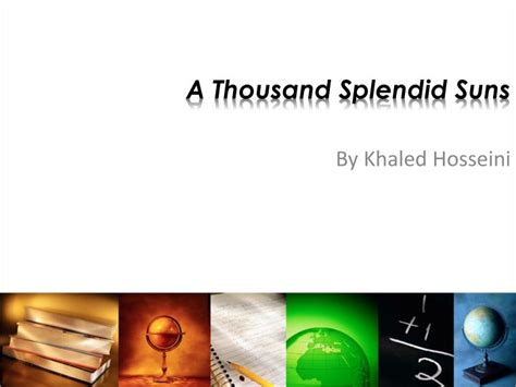 exles of themes in a thousand splendid suns ppt a thousand splendid suns powerpoint presentation