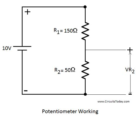 potentiometer wiring schematic 30 wiring diagram images