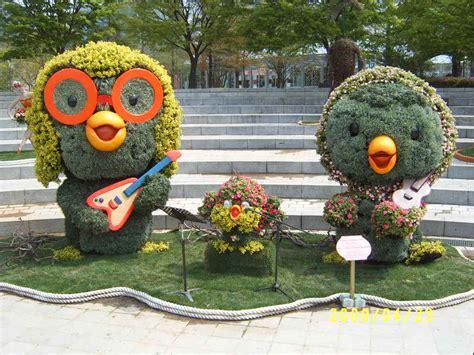 sculture di fiori giardino botanico laranarighe