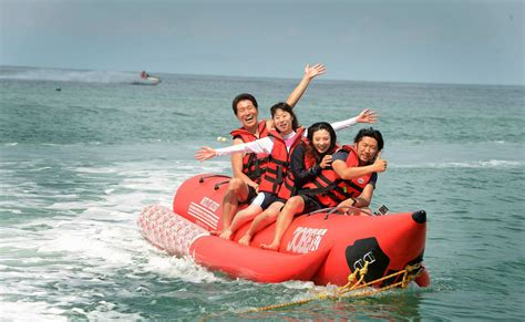 banana boat ride australia banana boat ride in tanjung rhu beach thrillophilia