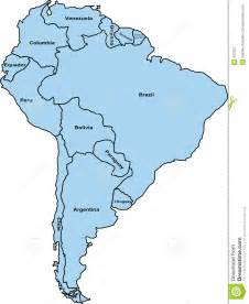 map of south america free large images south america map stock illustration image of world