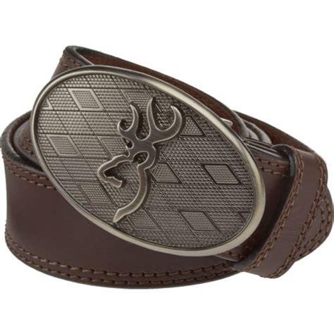 browning s oval buckmark buckle belt academy