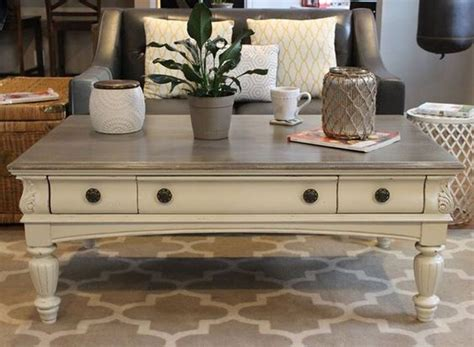 Painted Coffee Table Ideas Chalk Painted Coffee Table Our Refinished Furniture Colors Diy Coffee Table And