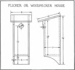 pileated woodpecker bird house plans 187 woodworktips