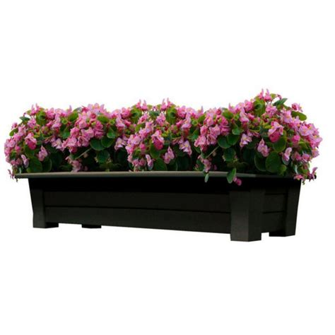 Large Resin Planters Outdoor by Large Resin Plastic Outdoor Deck Garden Patio Flower